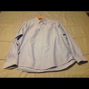 Men's Polo Button Down Shirt